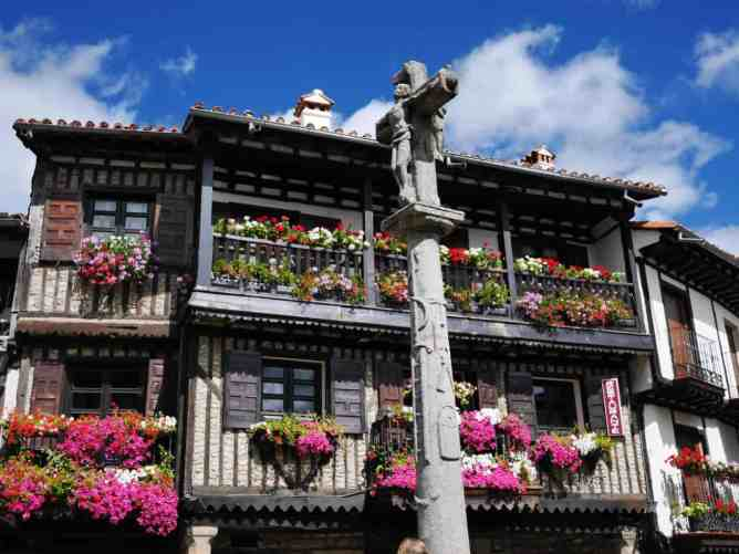 The quaint, small-town charm os La Alberca in Spain.
