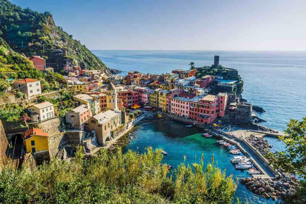 Italy's beautiful coastal town of Cinque Terre.