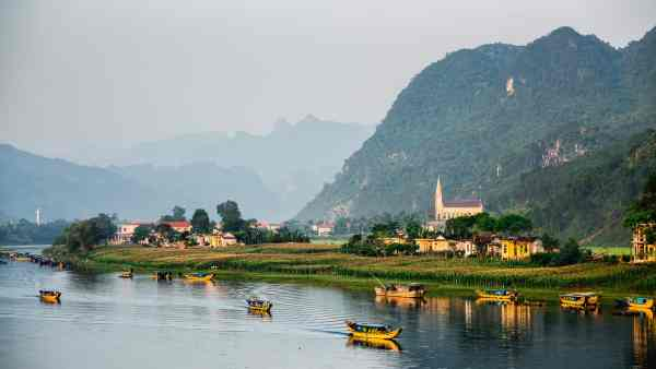 The exquisite, relatively undiscovered natural beauty of Phong Nha in Vietnam.