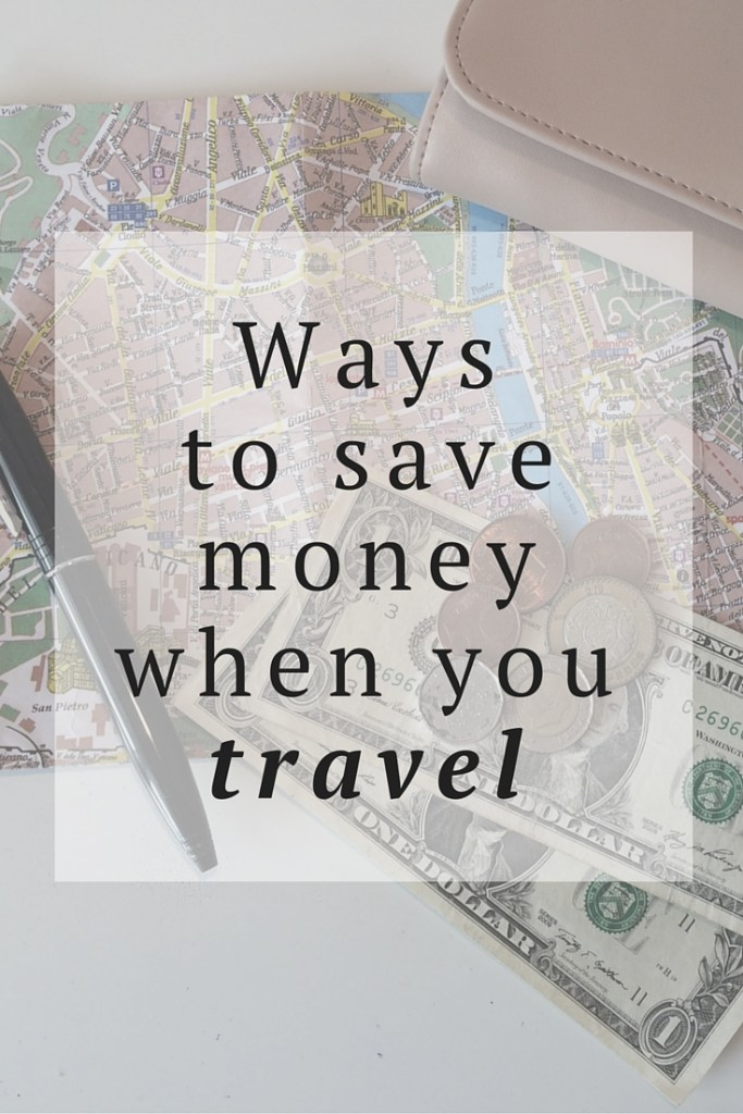 save money travel tips