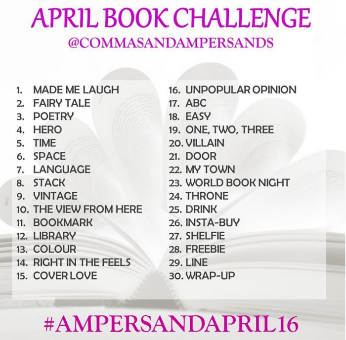 Ampersandapril bookstagram