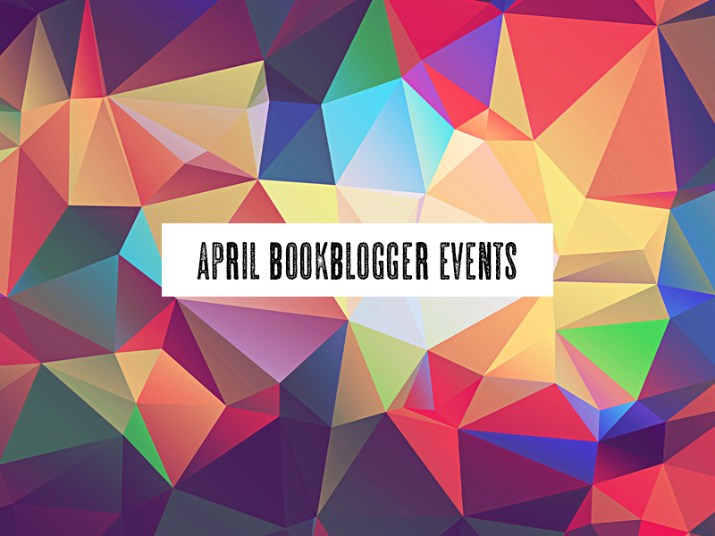 April #BookBlogger Events