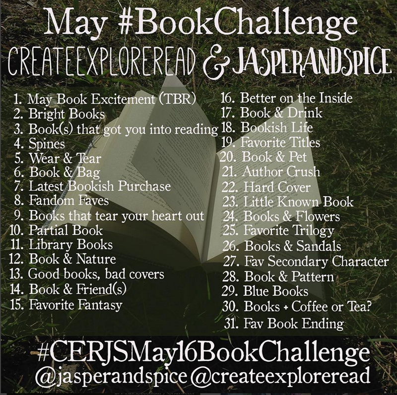 CERJS May Bookstagram Instagram Challenge