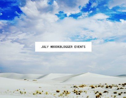 July Book Blogger Events