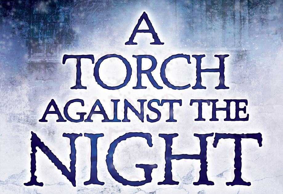 a torch aginst the night