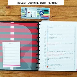 Bullet Journal Disc Bound Planner