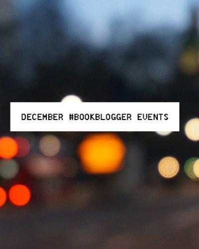 DDecember Book Blogger Events