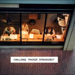 Reading Tracker Challenge Spreadsheet