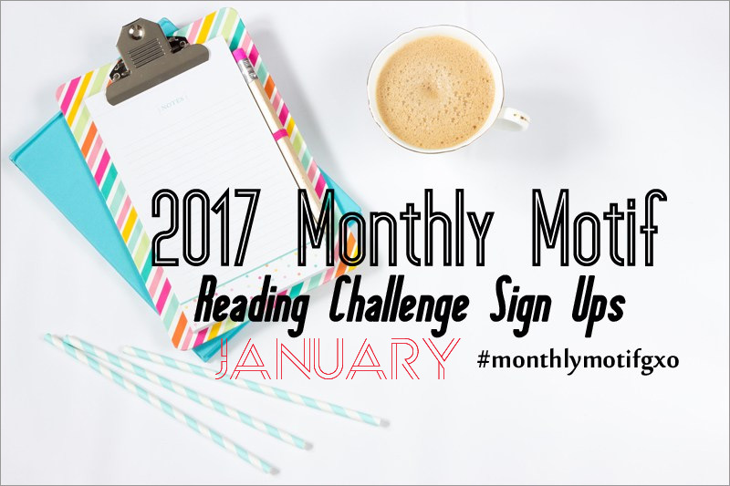 2017 Monthly Motif Reading Challenge - January CheckIn