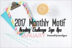 january monthly motif