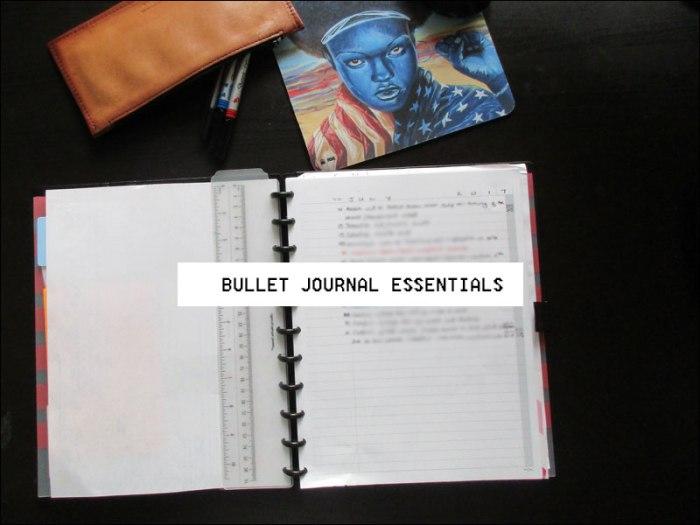 Bullet Journal Essentials