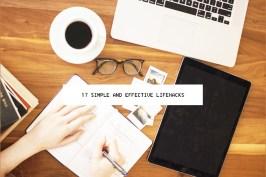 17 Simple Lifehacks