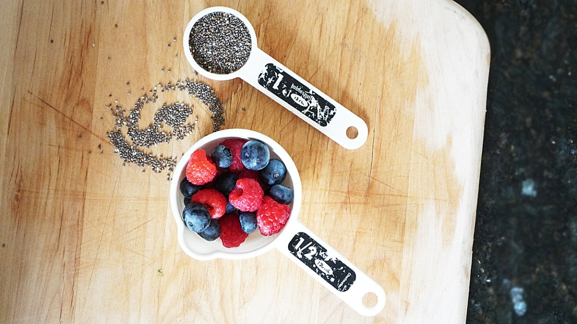 Berries and Chia Seeds