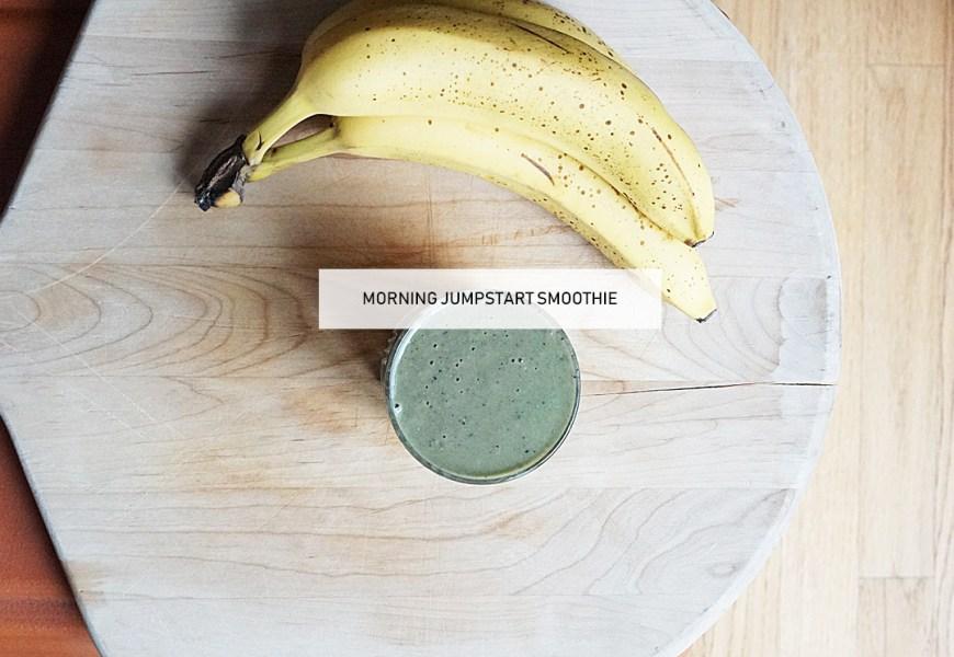 Green Smoothie Morning Jump Start