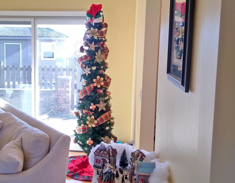 Family Room Christmas Tree 2018