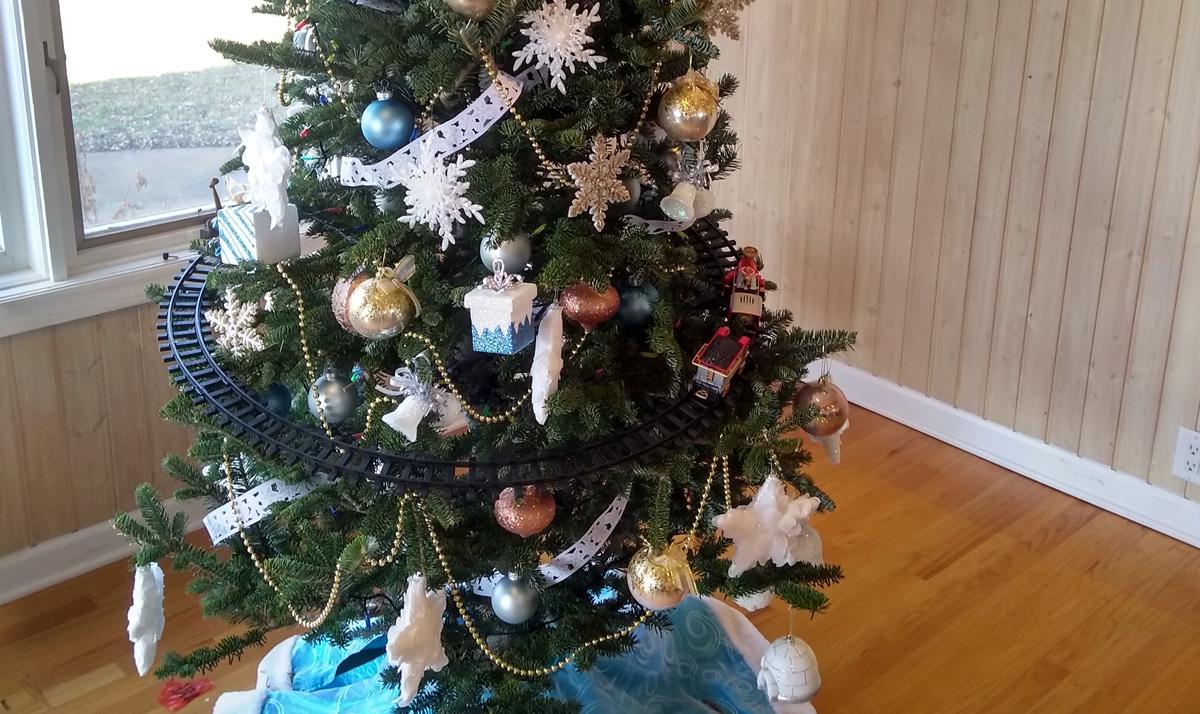 Christmas Tree Living Room 2018