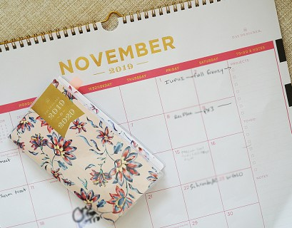 November Plan With Me