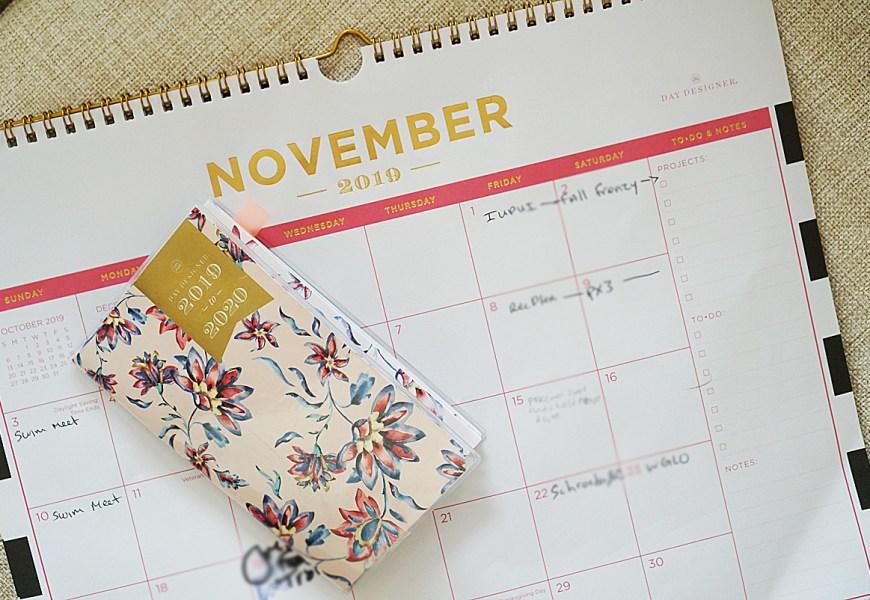 November Plan With Me