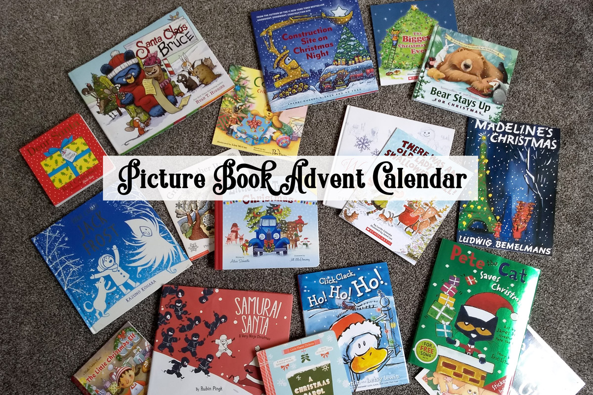 Christmas Picture Book Advent Calendar