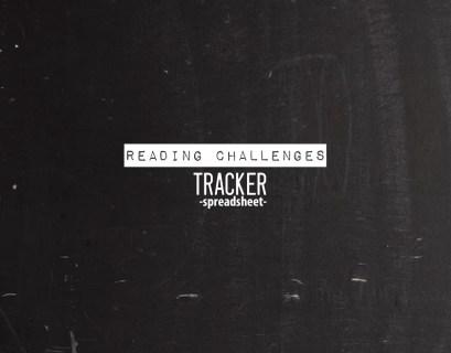 Reading Challenges Tracker Spreadsheet