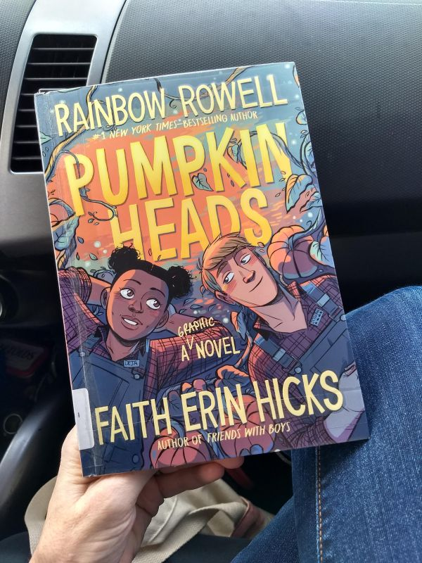 Cover of Pumpkinheads comic book by Rainbow Rowell