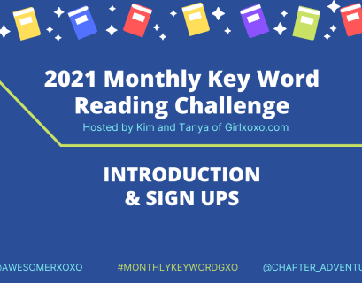 2021 Intro Monthly Key Word Challenge