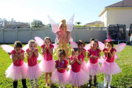 Tinkerbell Greensboro Birthday Party Ideas