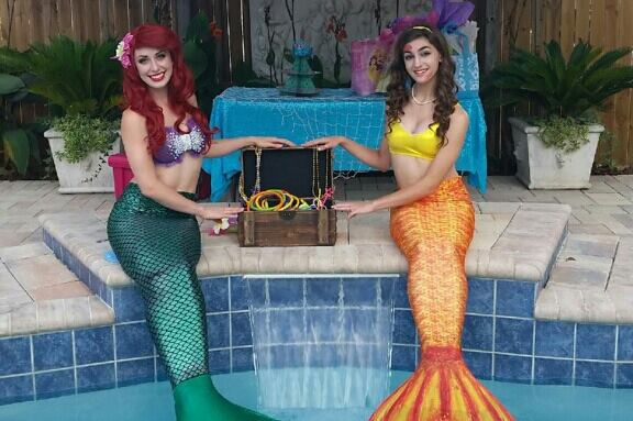 Mermaid Birthday Party Greensboro North Carolina