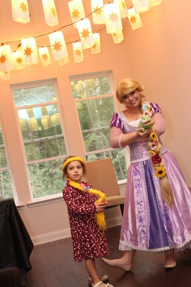 Rapunzel Princess party Greensboro