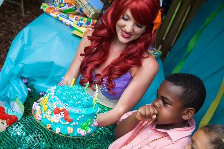 Little Mermaid Birthday Nashville