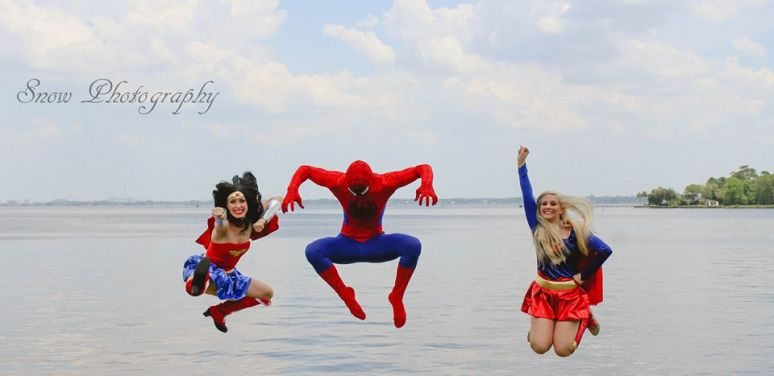Jacksonville Superhero Birthday Party