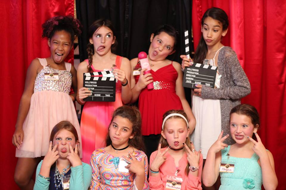 Hollywood VIP Red Carpet Party for Tweens Jacksonville Birthday