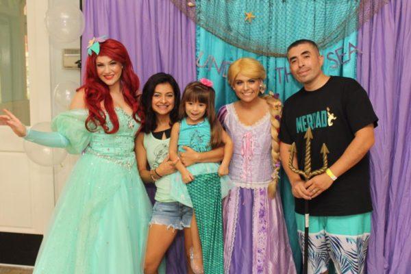 Ariel and Rapunzel Princess Party Jacksonville