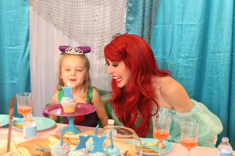 St Augustine Mermaid Birthday Party
