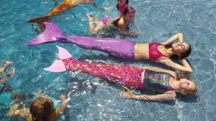 St Augustine Mermaid Pool Party Birthday