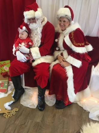St Augustine Jacksonville Santa and Mrs Claus Christmas Party