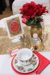 Tea Party Beauty and the Beast