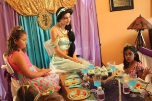 Jasmine Inspired Princess Party