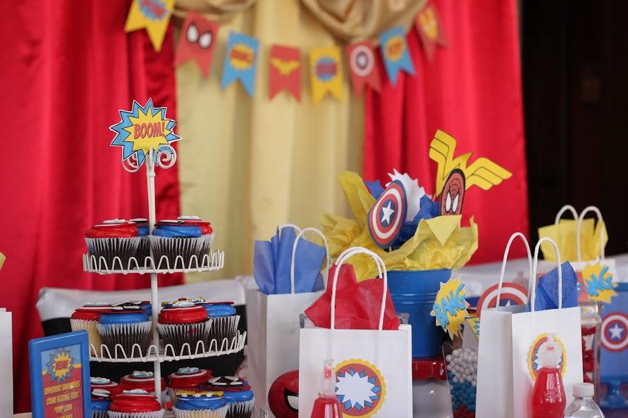 Superhero-Birthday-Party
