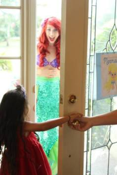 Ariel Inspired Little Mermaid Birthday Party Planner
