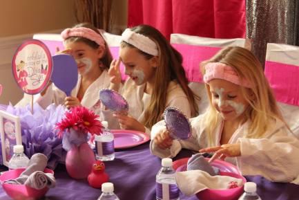 Diva Spa Party Kids Facials