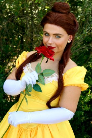 Jacksonville Belle Beauty and the Beast Birthday Tea Party