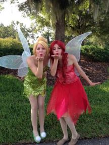 Tinkerbell Fairy Birthday Party St Augustine & Garden Fairy Rosetta
