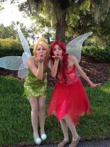 Tinkerbell Fairy Birthday Party St Augustine & Garden Fairy Rosetta