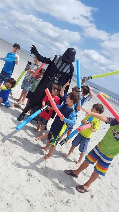 Darth Vader Florida Beach Jacksonville