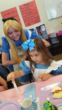 Alice in Wonderland Birthday Party St Augustine