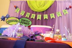 Girly Ninja Turtle Birthday Party