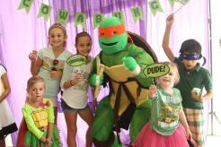 Ninja Turtle Birthday Party
