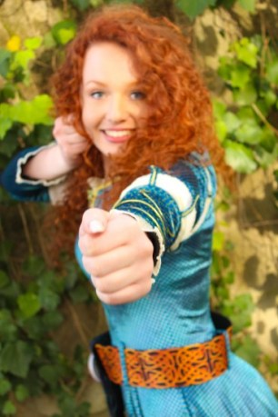Merida Inspired Brave Birthday Party