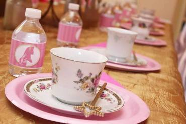 Aurora Sleeping Beauty Tea Party Birthday